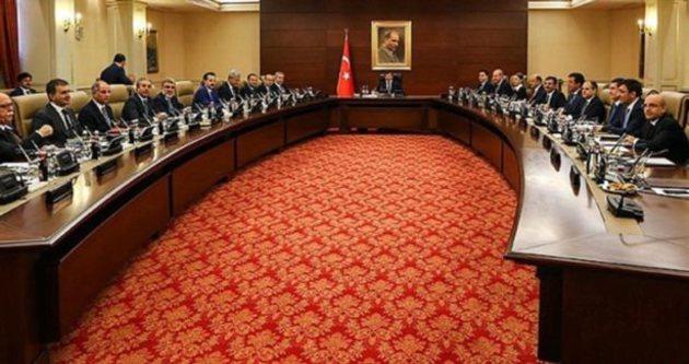 Bakanlar Kurulu toplantısı sona erdi