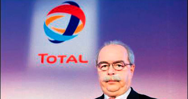Total'in CEO'su uğurlandı