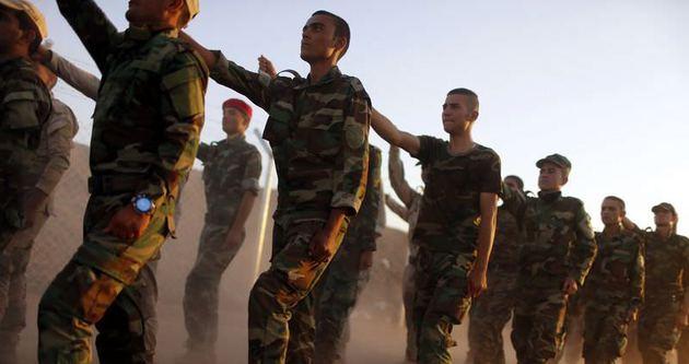 Peşmerge Kobani için yola çıktı