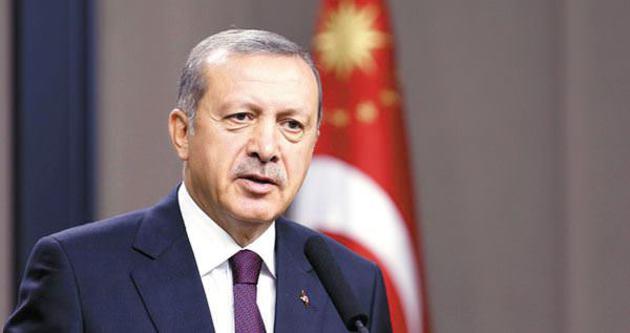 Erdoğan'dan, Süleyman Şah'taki askerlere bayram mesajı