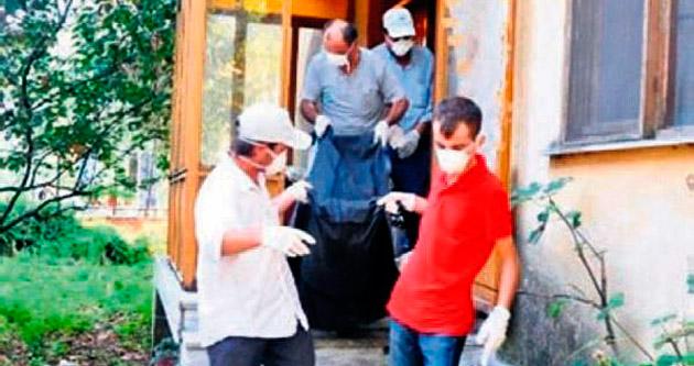 Çöp evde 15 milyonluk miras