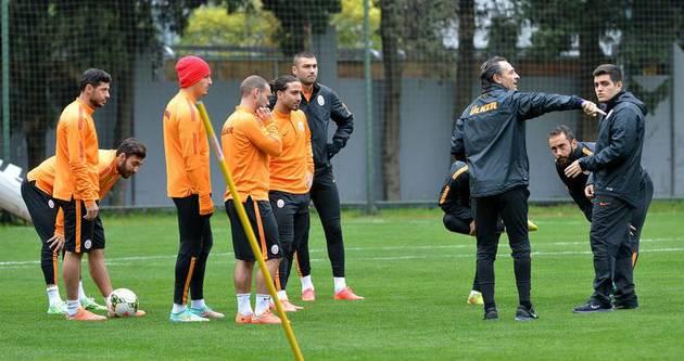 Galatasaray'da Kasımpaşa hazırlığı