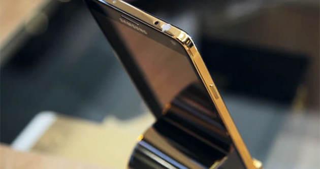 Altın kaplama Galaxy Note 4