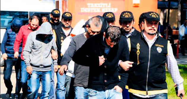Parti binasına 39'uncu kumar baskını yapıldı
