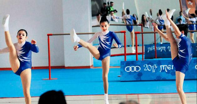 Jimnastikçiler kıyasıya yarıştı