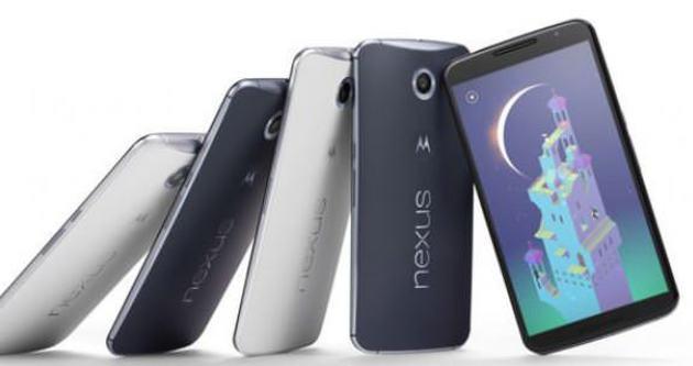 Nexus 6 ön siparişe açıldı