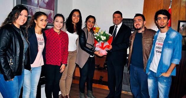 MYO öğrencilerinden ulaşım teşekkürü