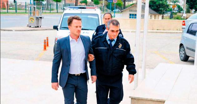 Danimarkalıya tutuklama çıktı