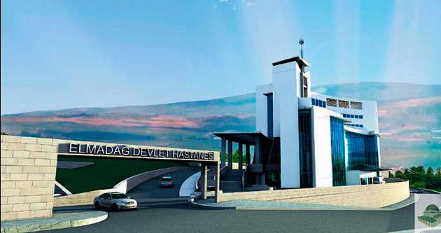 Elmadağ'a devlet hastanesi yapılıyor