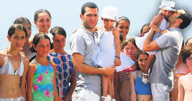 Murat Yıldırım lösemili çocuklara umut verdi