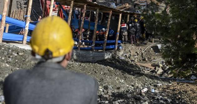 Ermenek'te kömür ocağında çalışmalar devam ediyor