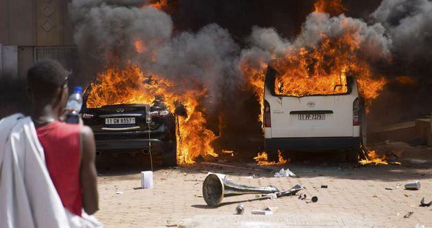 Burkina Faso'da gerginlik tırmanıyor