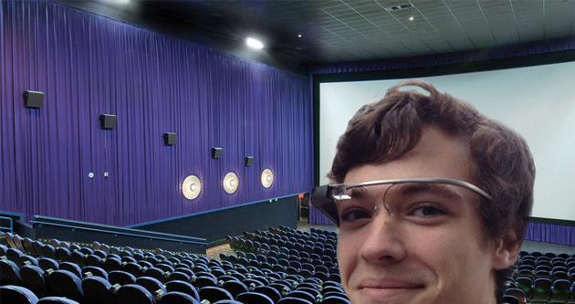 Google Glass sinemalarda yasak