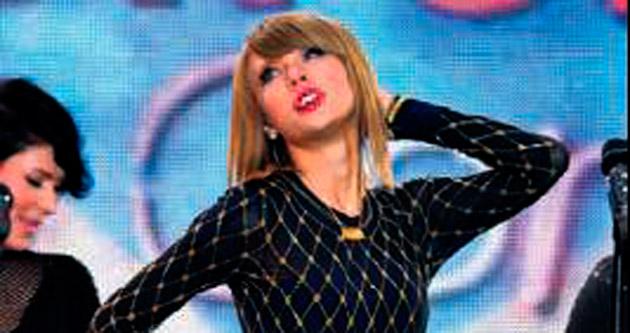 Times Meydanı'nda Taylor şov!