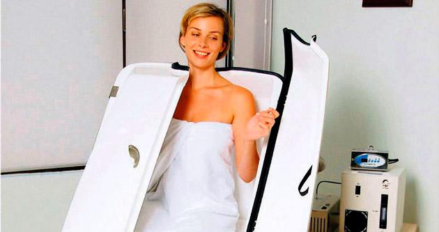 Fazla kilodan ozon sauna ile kurtulun