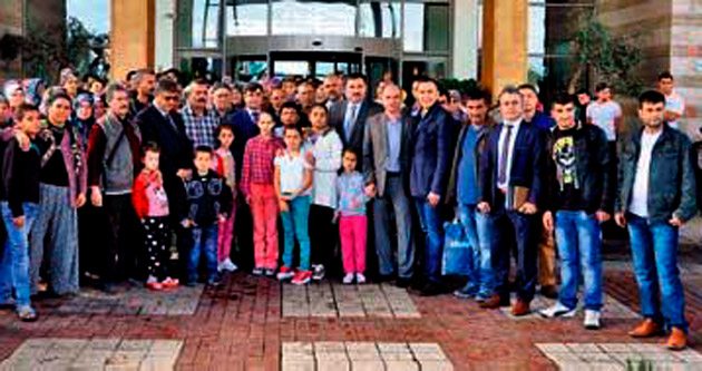Somalı madenci aileleri ağırlandı