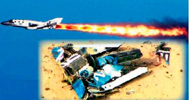 İlk 'özel' uzay gemisi kaza yaptı