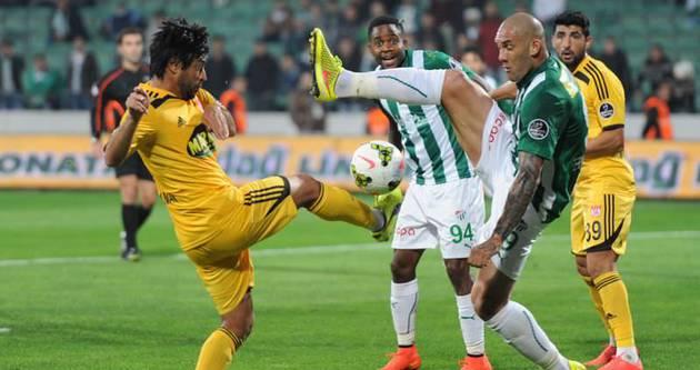 Bursaspor ikinci yarıda açıldı