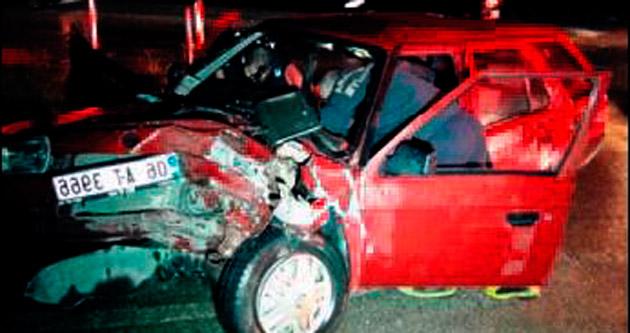 Ankara'da trafik kazası 1 ölü, 4 yaralı