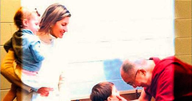 Dalai Lama ile buluşma