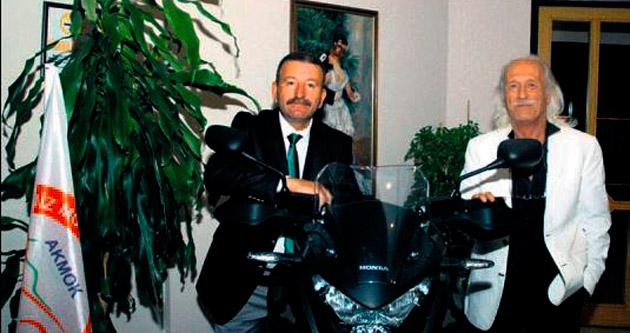 Motosiklet Kulübü yeni başkana teslim