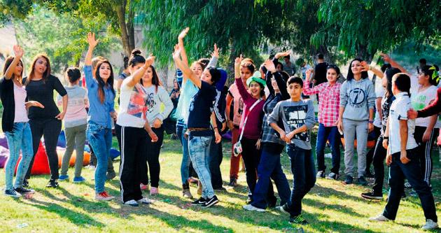 Yurt çocukları piknikte eğlendi