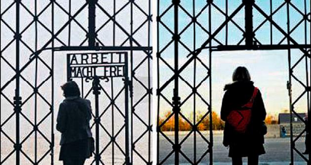 Nazi özdeyişi bu kez Dachau'da çalındı
