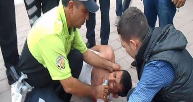 Polisten insanlık dersi