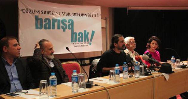 Barışa Bak kampanyası 69 imzayla başladı