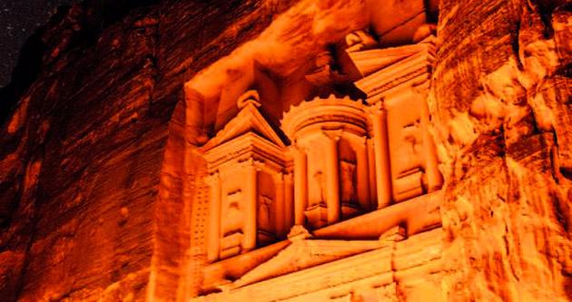Petra harikalar diyarı