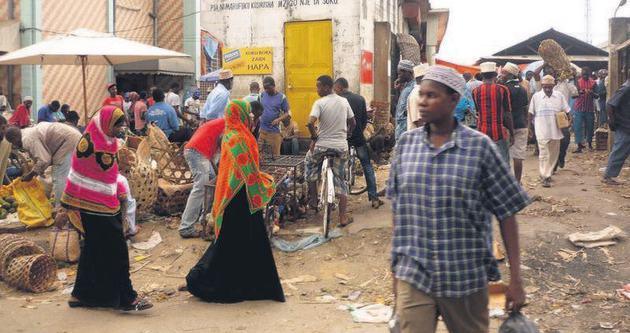 Zanzibar'da baharat turizm