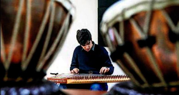 Engelli Burak müzik tutkunu