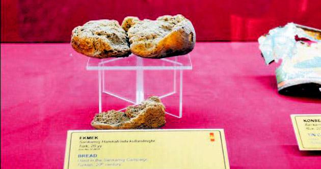1. Dünya Savaşı'ndan kalan 100 yıllık ekmek
