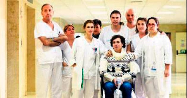 Eboladan kurtulan hemşire taburcu edildi