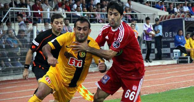 Sivasspor ile Eskişehirspor 15. kez...