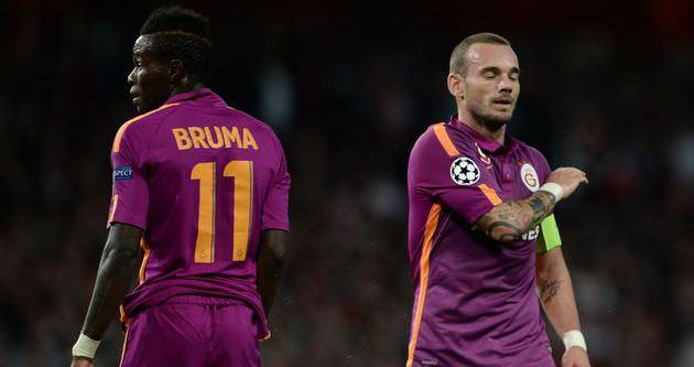 Bruma Galatasaray'dan ayrılıyor