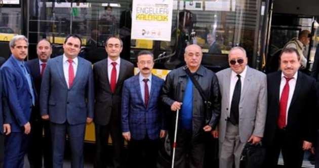 Engelliler için otobüs kullanmak artık çok kolay
