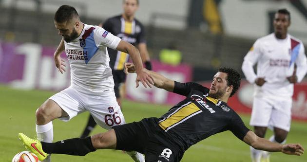Trabzonspor 1 puanla dönüyor