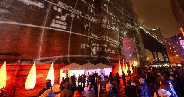 New York'ta ışık festivali