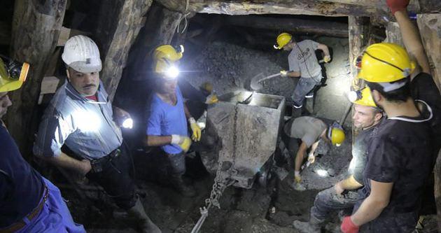Ermenek'te mahsur kalan madenciler hayat kurtardı