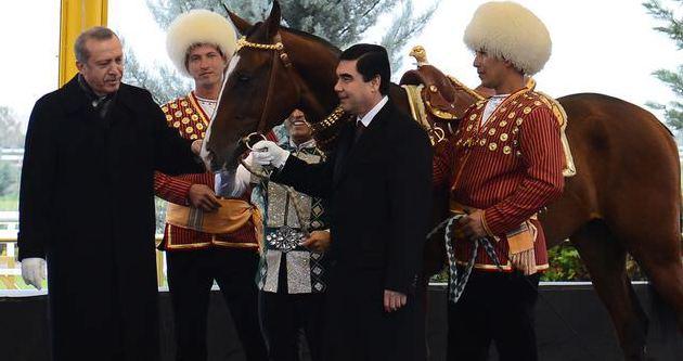 Erdoğan'a anlamlı hediye