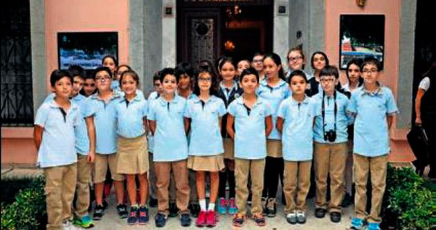 Öğrencilerin Atatürk Evi gezisi