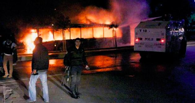 İtfaiye, TOMA'ya su vermedi yangına da müdahale etmedi