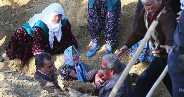 Ermenek'teki cenazede yürekler yandı