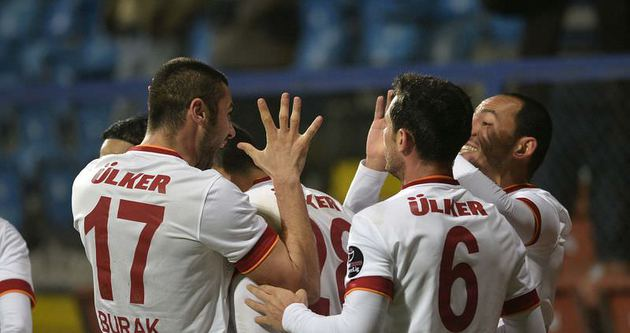 Galatasaray, Karabük'te moral buldu