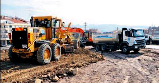 Pursaklar'da yeni imar yolları açıldı