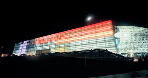 Kukuletalı başkan stadyum açılışı yaptı
