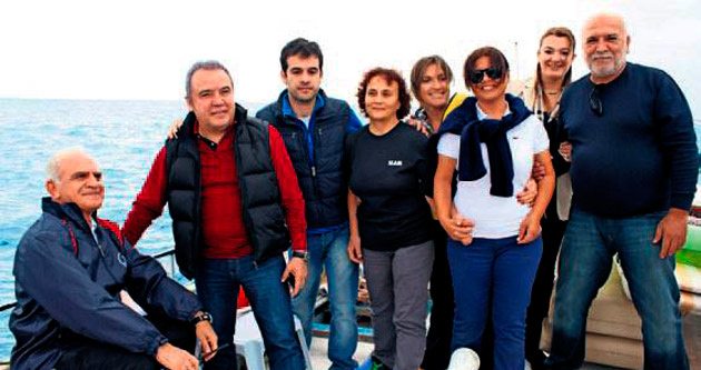 Akdeniz'de Atatürk için yelken yarışları yapıldı