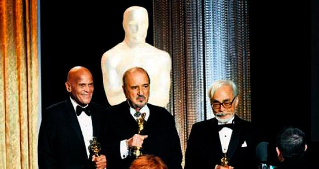 Sinemanın devlerine Oscar onur ödülü