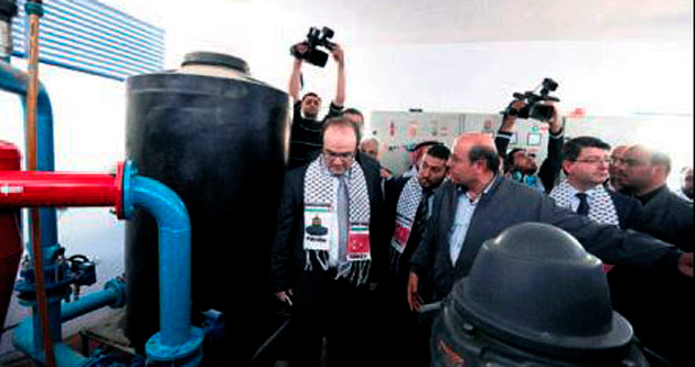 TİKA Gazze'yi suya kavuşturdu